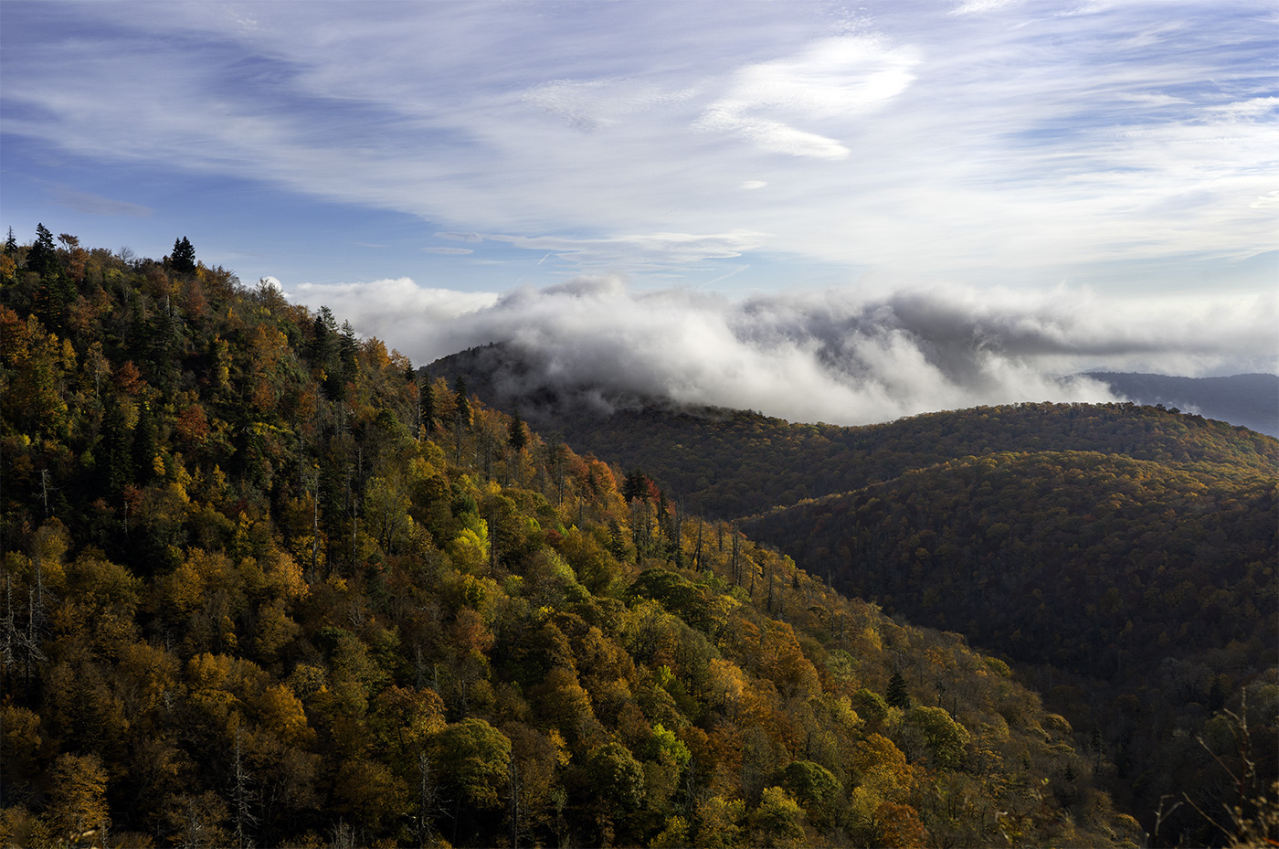 Fall tours in the Blue Ridge Mountains